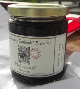 Navarro Olallieberry Zinfandel Preserves