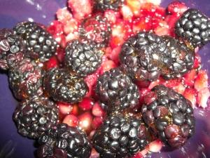 blackberry pom