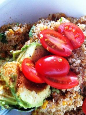 Quinoa Tomato Corn Salad